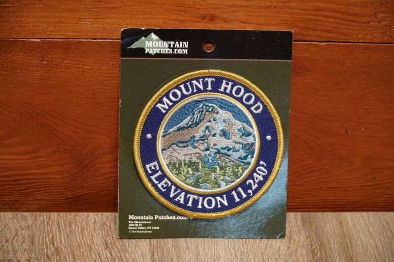 New Mt Hood Patch - Elevation 11,240