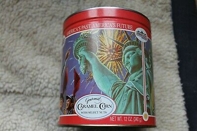 Trails End Caramel Corn - tin can collectible