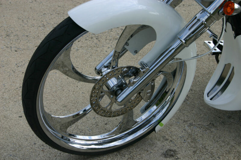 "Harley Davidson 30"" Inch Chrome 3d Wheel  ""merlin"" Harley Wheels"