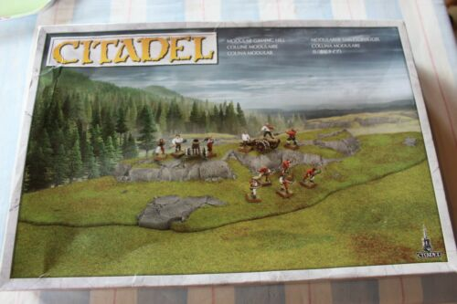 Games Workshop Warhammer Citadel Modular Gaming Hill Terrain Scenery NIB New Box