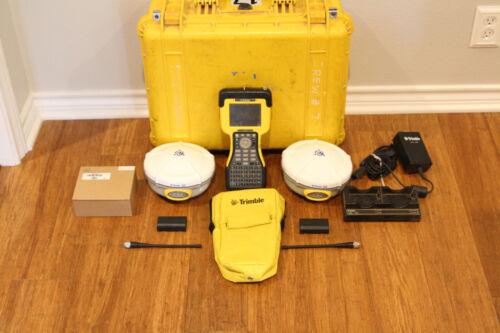 Trimble Dual R8 Model 2 GPS GNSS Glonass RTK Survey Receiver Setup w/ TSC2