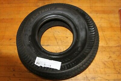 CARLISLE SAWTOOTH TIRE 4.10X350X5 2 PLY ROTARY PART NUMBER 907.