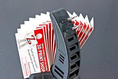 Usb Sd Microsd Business Card Holder Desktop Organizer - 3d Printed - Znet3d
