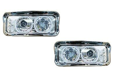 Kenworth W900 T800 T600 LED PROJECTOR HEADLIGHT HALO | Chrome | Pair | LH+RH for sale  Canada