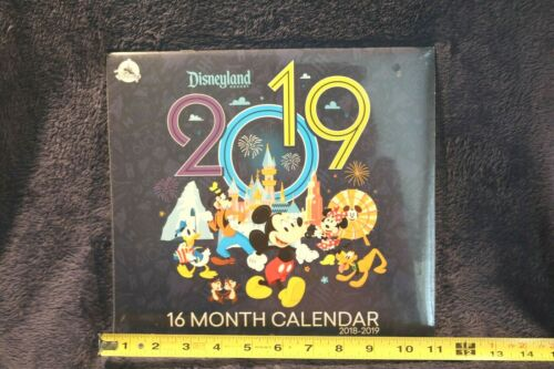 Lot of NEW SEALED Disneyland 16 Month CALENDARS  2014-2020 Mickey & Friends