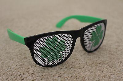 Fireball Whisky UV400 Sunglasses St Patricks Day Clover Box of 12 NEW IN BOX - St Patricks Day Sunglasses