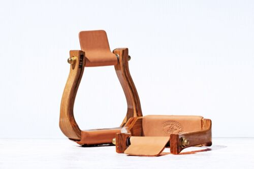 NETTLES HALF BREED WESTERN STIRRUPS WITH OR WITHOUT LEVELER