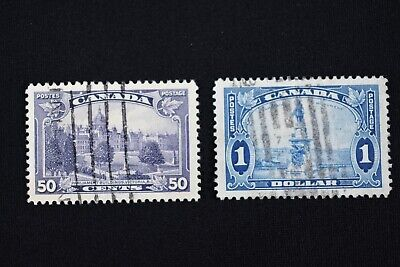 Canada Postage Stamps, Scott #226-227, Used