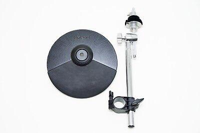 Kupplung /& Roland CY-5 25.4cm Elektronische Doppelt Trigger Hi-Hat Becken Pad