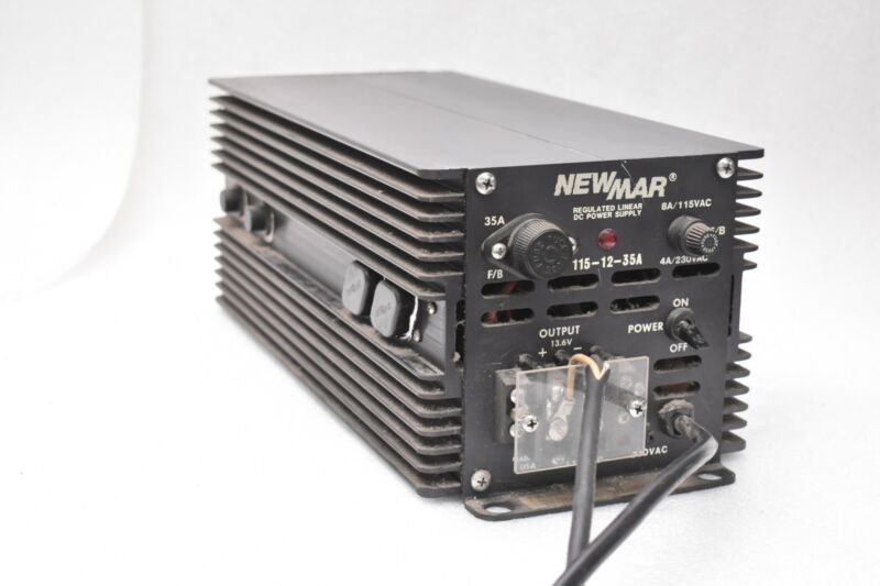 Newmar 115-12-35A Regulated Linear DC Power Supply