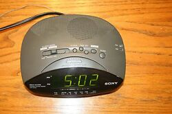 Sony Dream Machine FM/AM Alarm Clock Radio (Model ICF-C215) E1022748
