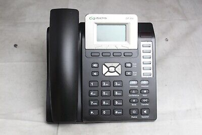Zultys Zip 33g Display 3-line Sip Business Office Ip Phone - No Stand