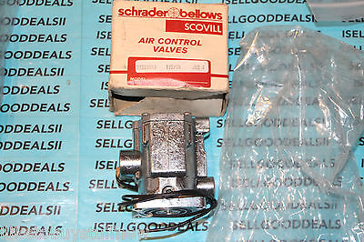 Schrader Bellows K1351043 Air Solenoid Valve 115v New