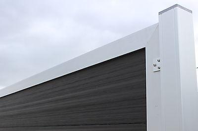 Design Wpc Sichtschutz Zaun Windschutz Alu Gartenzaun