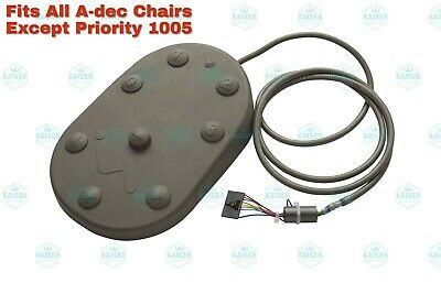 Foot Switch Assembly For A-dec Chairs Dci 9588 - Oem 62.0163.01