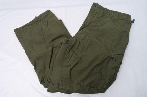 VINTAGE MILITARY VIETNAM TROPICAL COMBAT RIP-STOP OG 107 TROUSERS PANTS XL-REG