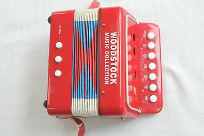 Woodstock Kid's Accordion Child Percussion Musical Instrument Toy