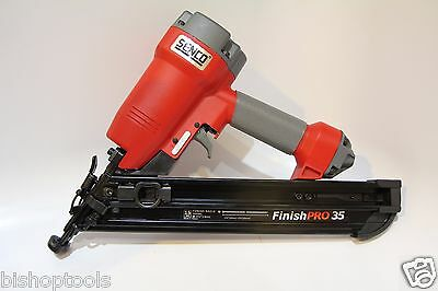 "Senco FinishPRO35 FP35 15 Gauge 1-1/4"" to 2-1/2"" Angled Finish Brad Nailer NEW"