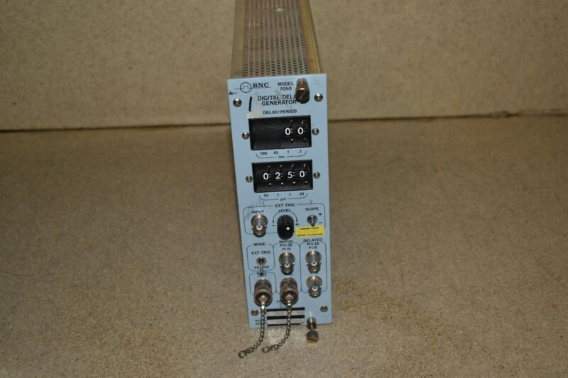 BNC BERKELEY NUCLEONICS CORP 7050 DIGITAL DELAY GENERATOR (TP2007)
