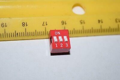 Apem Ds-03 3-position Dip Switch Thru-hole New Lot Quantity-9