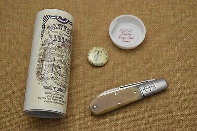 Great Eastern Cutlery TC Barlow 152121 Sepia Saw Cut Bone spear point knife SFO