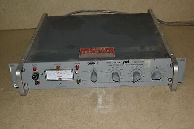 Power Designs Model 2k20a High Voltage Regulated Dc Power Supply Aa