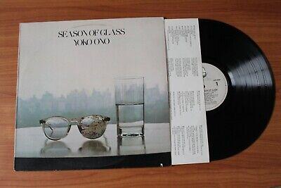 YOKO ONO LP - SEASON OF GLASS - VG++ TO MINT- - ONO GHS 2004 LENNON (Yoko Glasses)