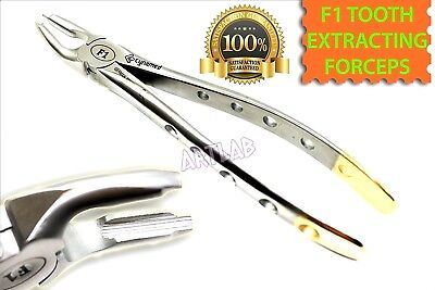 New German Single Upper Molar Tooth Extraction Atraumatic F1 Forceps Dental Tool