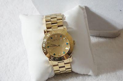 Marc Jacobs MBM3215 36mm Gold Steel Bracelet & Case Women's Watch