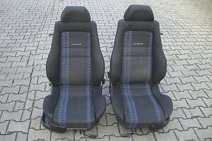 VW Golf 3 GTI Edition Recaro Sitze Innenausstattung in Blau Türpappen 2 Türer