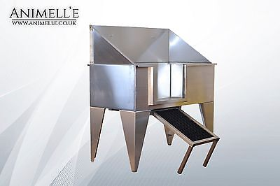 *SALE NOW ON* Stainless Steel Dog grooming Bath pet grooming cleaning UK MADE