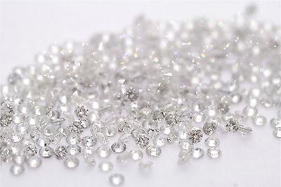 .50ctw 1/2ctw Wholesale Lot of 1.75-1.70mm .02ct ea Loose Diamonds G-I, SI2-I1