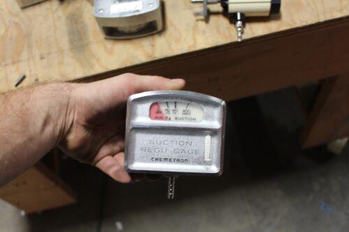 Chemetron Suction Regu-Gage Suction Regulator