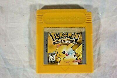 Nintendo Gameboy - Pokemon Yellow Version - Special Pikachu Edition - Tested