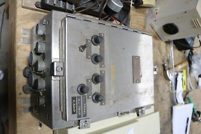Hoffman 16 X 12 X 8 Stainless Steel Control Panel Enclosure Used