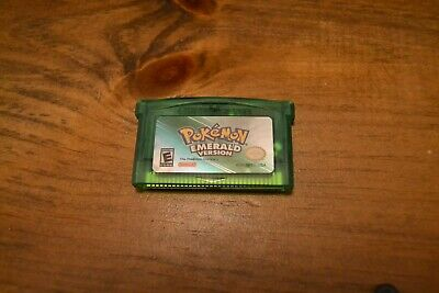 FREE SHIPPING - Pokemon Emerald - GBA USA Seller
