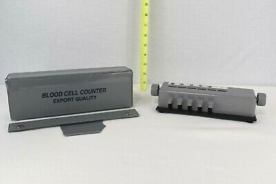 Scientific 5 Key Blood Cell Counter Export Quality W Case