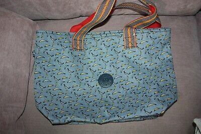 Kipling banana print tote bag
