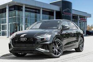 2019 Audi Q8 55 Technik S-Line|NAV|BACKUP CAM|PANO SUNROOF