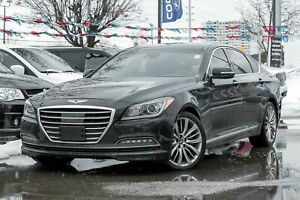 2017 Genesis G80 5.0 Ultimate, NAVIGATION, BACKUP CAM, PANO ROOF