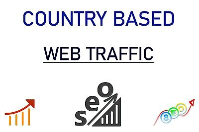 Real Active Country Targeted Website Traffic 100 Real Web Traffic Seo