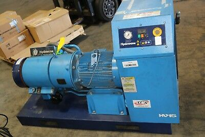 Hydrovane 20hp15kw Skid-mount Vane Compressor 9 Bar Hv-15 Working