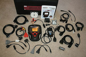 BRAND NEW 2013 Matco Determinator X-treme USA/Asian/European Cables Software