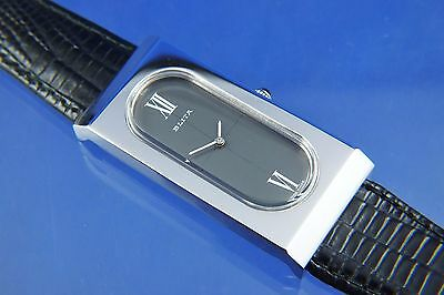 Vintage Retro Blita Fashion Ladies Watch NOS Circa 1970s Wind Up Mechanical