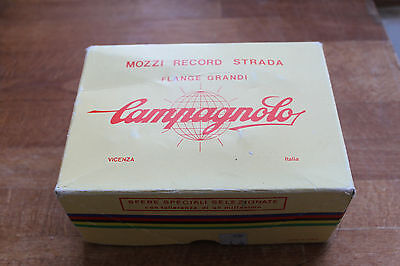 Campagnolo Record Hubs NOS Large Flange 28/32H, BSA Thread
