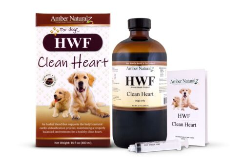HWF~Natural, safe & powerful CLEAN HEART for dogs~shipped from the manufacturer