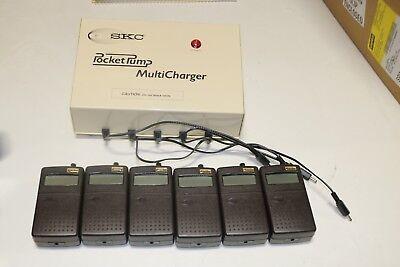 Set Of 5 Skc Pocket Air Sampler Pumps With Multi Charger
