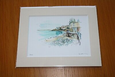 David Kearney  watercololour/pen St Ives (7