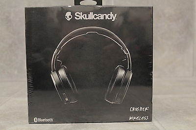 Skullcandy - Crusher Wireless Over-the-Ear Headphones - Black/Coral