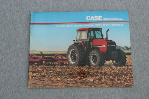 Case-IH 94-series tractors original sales brochure #AD-60129B